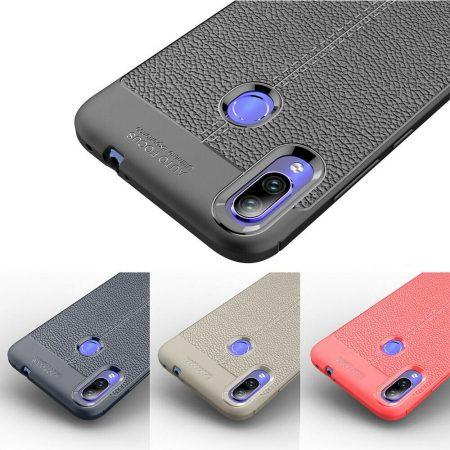 خرید کاور طرح چرمی اتو فوکوس گوشی شیائومی Xiaomi Redmi 7