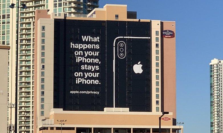 بیلبورد جنجالی اپل