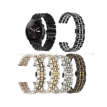 خرید بند ساعت هوشمند شیائومی Amazfit Stratos استیل رولکسی