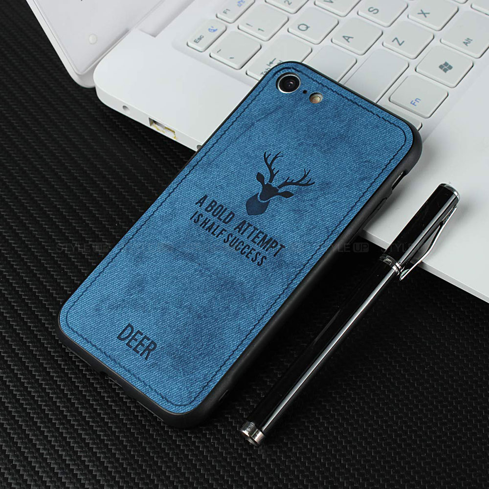 خرید قاب گوشی آیفون iPhone 8 / 7 پارچه ای طرح گوزن