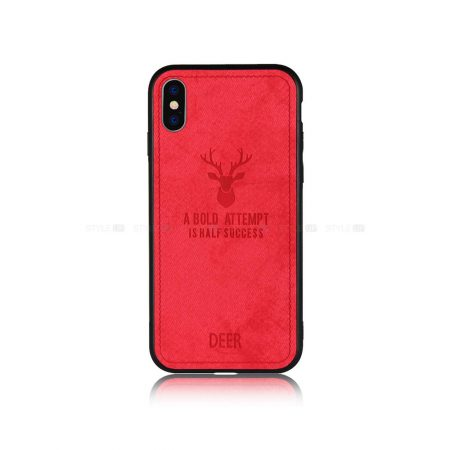 Buy-Price-Apple-iPhone-X-XS-Deer-Pattern-Soft-Case