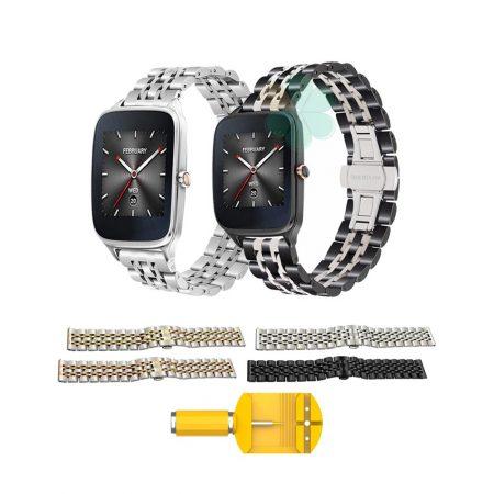 خرید بند ساعت هوشمند ایسوس Zenwatch 2 WI501Q استیل رولکسی