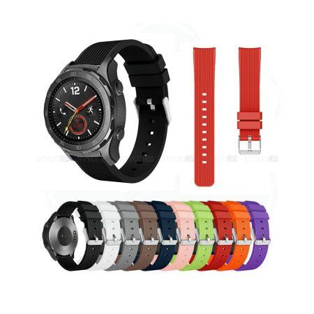 خرید بند ساعت هواوی واچ Huawei Watch 2 Sport سیلیکونی طرح گلکسی