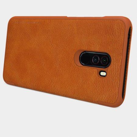 خرید کیف چرمی نیلکین گوشی شیائومی Pocophone F1 مدل Qin
