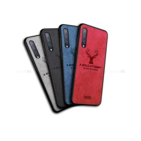 خرید قاب گوشی سامسونگ Galaxy A7 2018 پارچه ای طرح گوزن