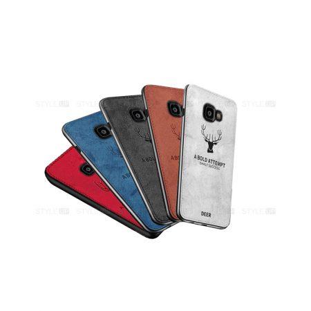 خرید قاب گوشی سامسونگ Galaxy J4 Plus پارچه ای طرح گوزن