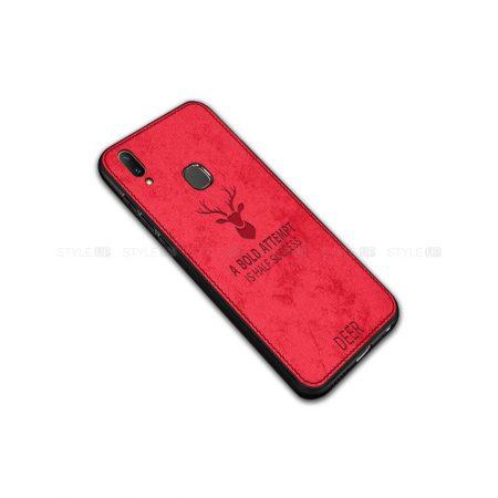 خرید قاب گوشی سامسونگ Galaxy M20 پارچه ای طرح گوزن