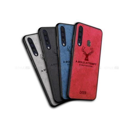 خرید قاب گوشی سامسونگ Galaxy M30 پارچه ای طرح گوزن