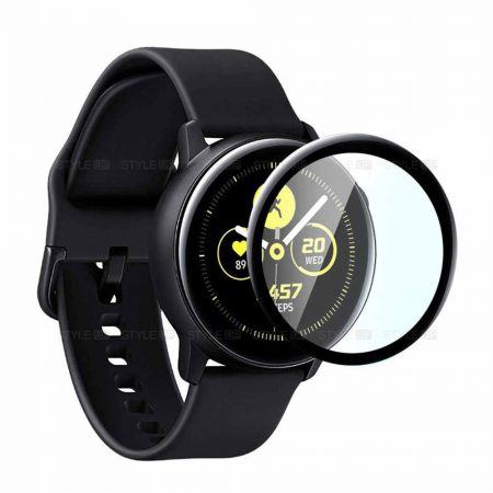 خرید گلس تمام صفحه ساعت سامسونگ Samsung Galaxy Watch Active