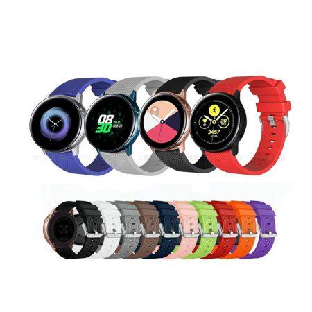 خرید بند ساعت سامسونگ Galaxy Watch Active سیلیکونی طرح گلکسی