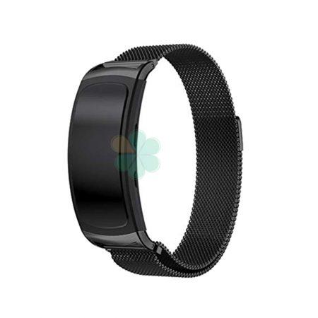 خرید بند ساعت سامسونگ گیر فیت Gear Fit 2 / 2 Pro استیل حصیری