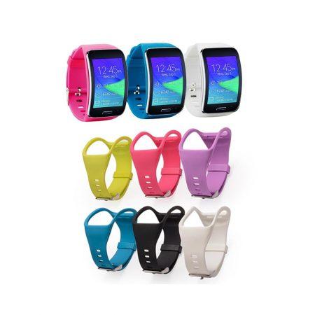 خرید بند ساعت سامسونگ Samsung Gear S R750 سیلیکونی سگکی
