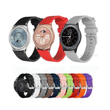 خرید بند ساعت هوشمند سامسونگ Gear S2 Classic سیلیکونی طرح گلکسی