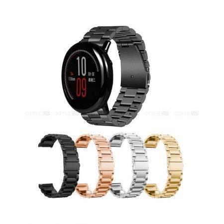 خرید بند استیل ساعت شیائومی Amazfit Pace مدل 3Pointers