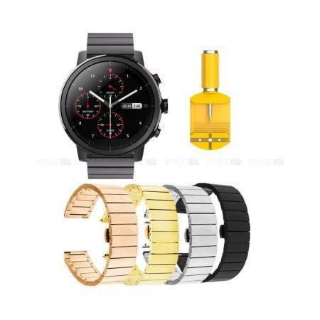 خرید بند استیل ساعت شیائومی Amazfit Stratos مدل One Bead