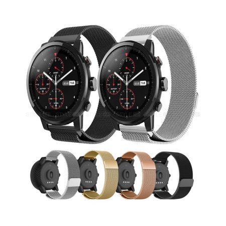 خرید بند ساعت شیائومی Xiaomi Amazfit Stratos استیل حصیری