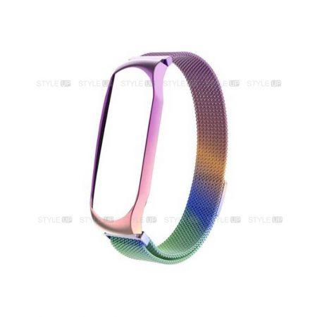 خرید بند مچ بند شیائومی Xiaomi Mi Band 4 استیل حصیری