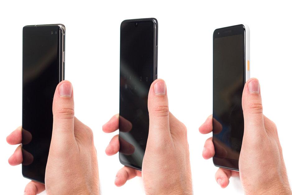 اندازه گوشی های هوشمند