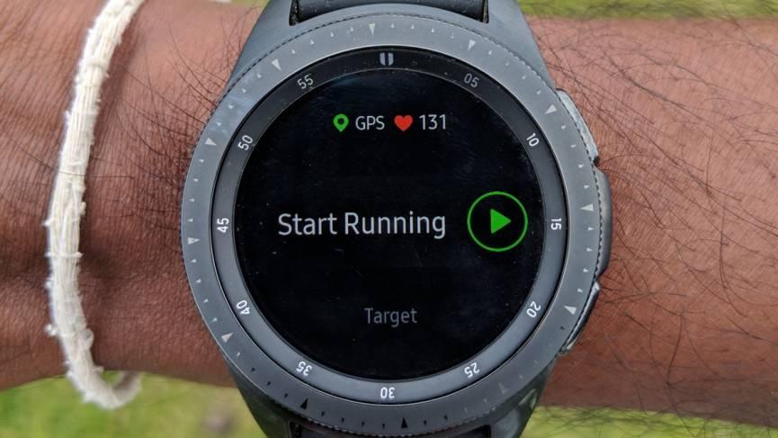 قابلیت ردیاب دویدن در گلکسی واچ