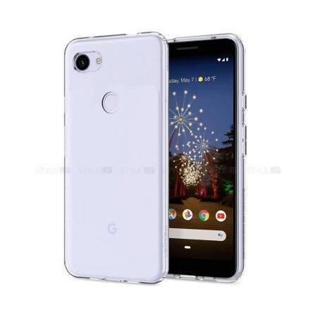 خرید قاب گوشی گوگل Pixel 3a مدل ژله ای شفاف