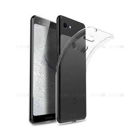 خرید قاب گوشی گوگل Pixel 3a XL مدل ژله ای شفاف