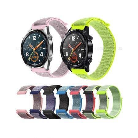 خرید بند ساعت هواوی Huawei Watch GT مدل نایلون لوپ