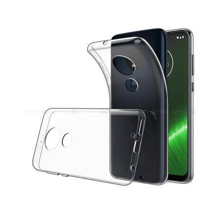 خرید قاب گوشی موتورولا Motorola Moto G7 مدل ژله ای شفاف
