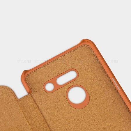 خرید کیف چرمی نیلکین گوشی ال جی LG G8 ThinQ مدل Qin