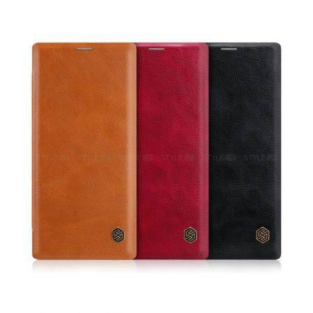 خرید کیف چرمی نیلکین گوشی سامسونگ نوت 10 - Note 10 مدل Qin