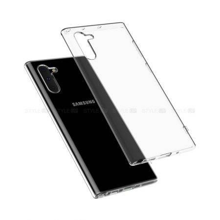 خرید قاب گوشی سامسونگ نوت 10 - Note 10 مدل ژله ای شفاف