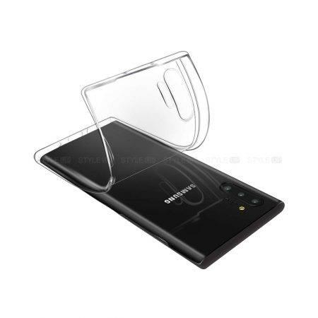 خرید قاب گوشی سامسونگ Note 10 Plus مدل ژله ای شفاف