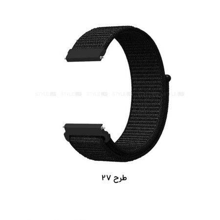 خرید بند ساعت سامسونگ گلکسی واچ 46mm مدل نایلون لوپ