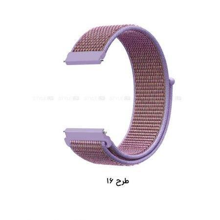 خرید بند ساعت سامسونگ Samsung Gear S3 مدل نایلون لوپ