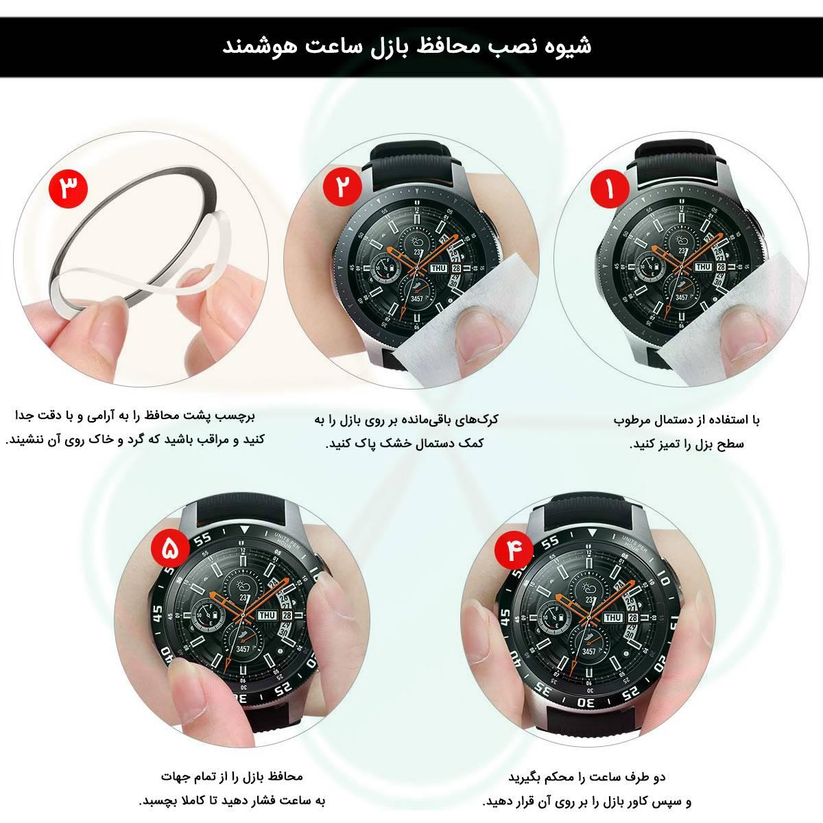خرید محافظ بازل ساعت هوشمند سامسونگ Samsung Gear S3 frontier