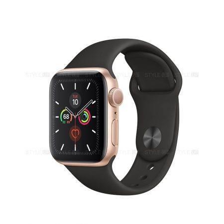 خرید ساعت اپل واچ 5 آلومینیوم بند اسپرت Apple Watch 40mm Gold
