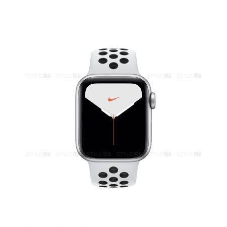 خرید ساعت اپل واچ 5 آلومینیوم بند نایک اسپرت Apple Watch 40mm Silver