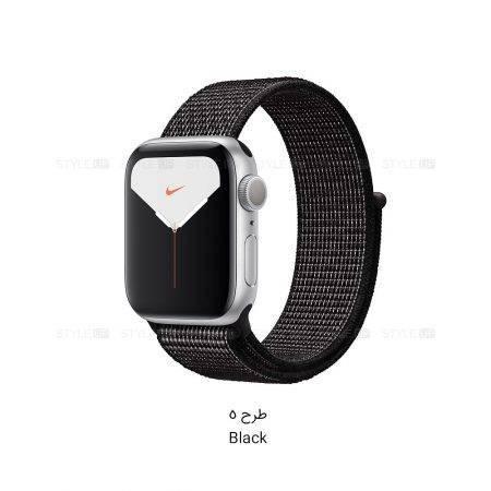 خرید ساعت اپل واچ 5 آلومینیوم نایک اسپرت لوپ Apple Watch 40mm Silver