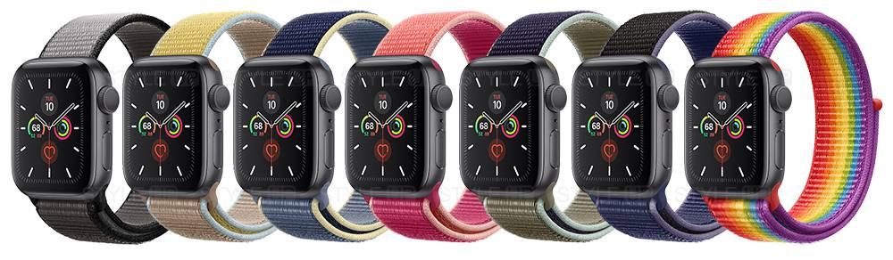 خرید اپل واچ 5 آلومینیوم بند اسپرت لوپ Apple Watch 40mm Space Gray