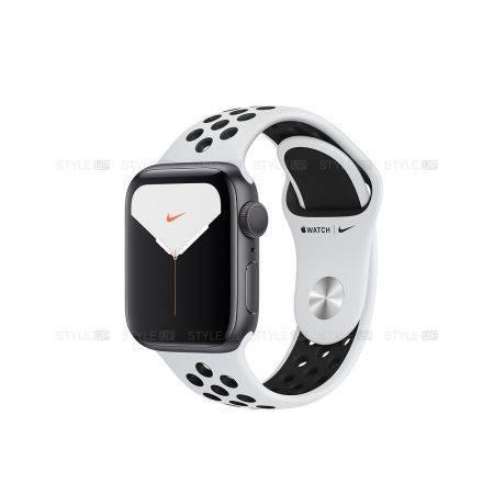 خرید ساعت اپل واچ 5 آلومینیوم بند نایک اسپرت Apple Watch 40mm Space Grey