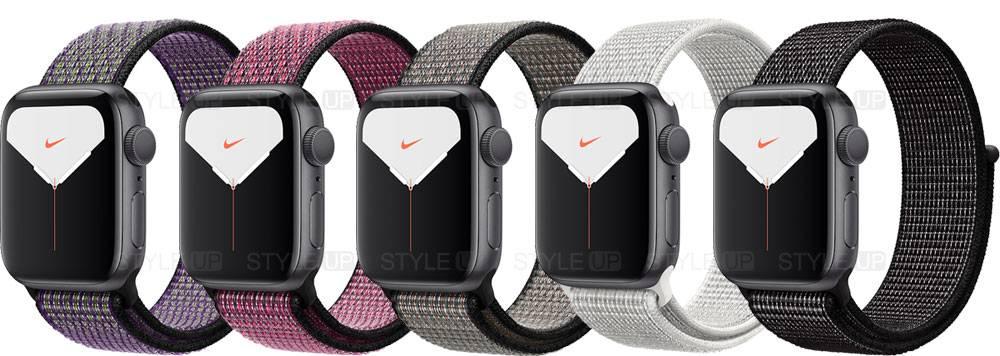خرید ساعت اپل واچ 5 آلومینیوم نایک اسپرت لوپ Apple Watch 40mm Space Grey