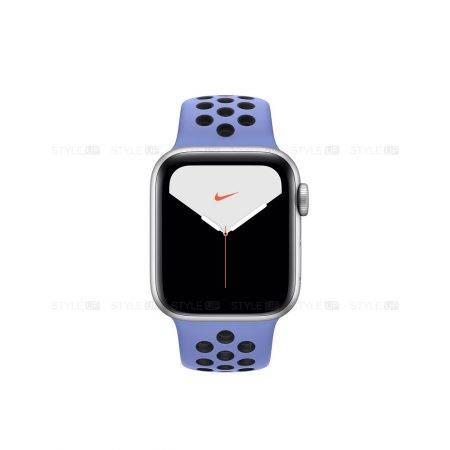 خرید ساعت اپل واچ 5 آلومینیوم بند نایک اسپرت Apple Watch 44mm Silver