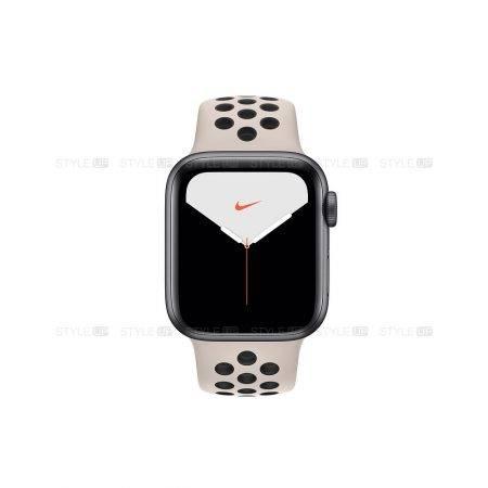 خرید ساعت اپل واچ 5 آلومینیوم بند نایک اسپرت Apple Watch 44mm Space Grey