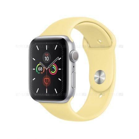 خرید ساعت اپل واچ سری 5 آلومینیوم بند اسپرت Apple Watch 40mm Silver