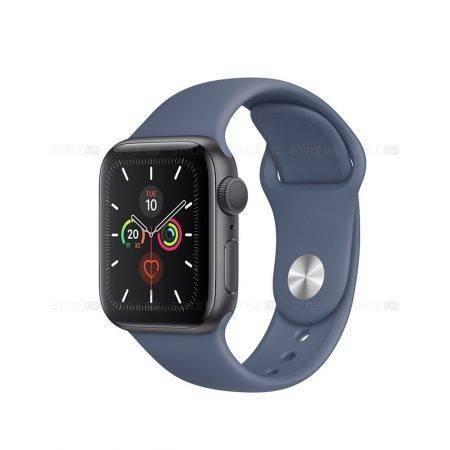 خرید ساعت اپل واچ سری 5 آلومینیوم بند اسپرت Apple Watch 40mm Space Grey