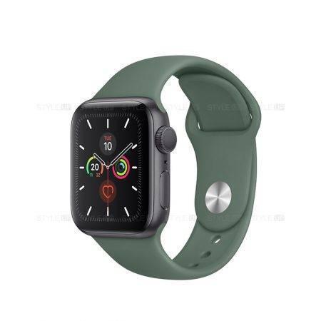 خرید ساعت اپل واچ سری 5 آلومینیوم بند اسپرت Apple Watch 44mm Space Grey