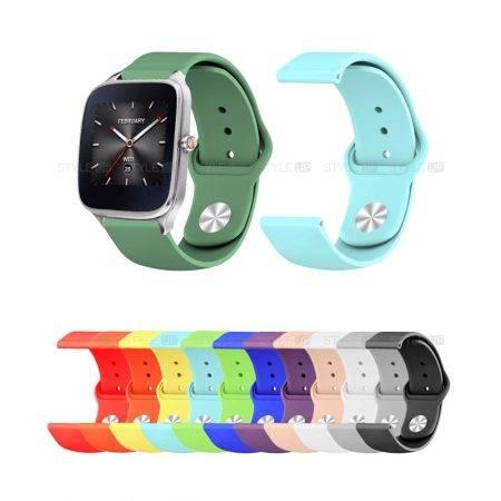 خرید بند سیلیکونی ساعت ایسوس Zenwatch 2 WI501Q مدل دکمه ای