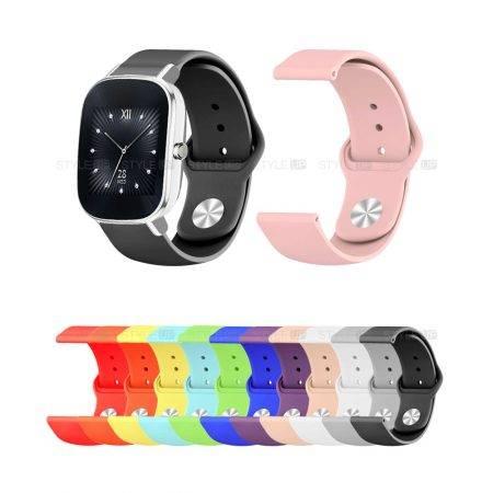 خرید بند سیلیکونی ساعت ایسوس Zenwatch 2 WI502Q مدل دکمه ای