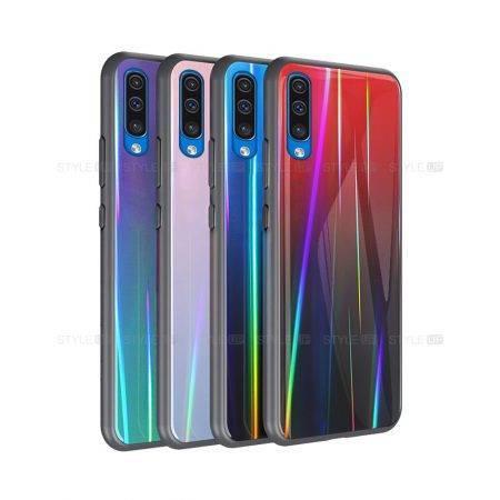 خرید قاب لیزری گوشی سامسونگ Samsung Galaxy A50 مدل رنگین کمان