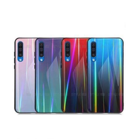 خرید قاب لیزری گوشی سامسونگ Samsung A70 مدل رنگین کمان