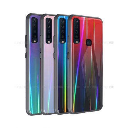 خرید قاب لیزری گوشی سامسونگ Galaxy A9 2018 / A9s مدل رنگین کمان